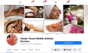 Tender Touch Spa Facebook